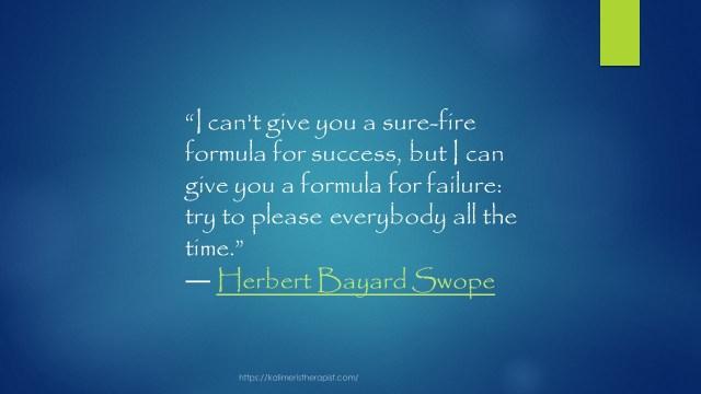 formula for failure