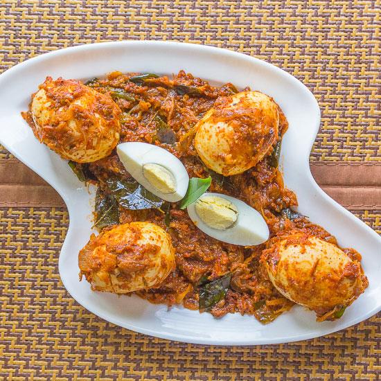 Kerala Nadan Egg Roast