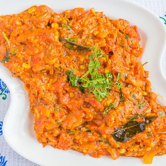 Tomato-Bhaji