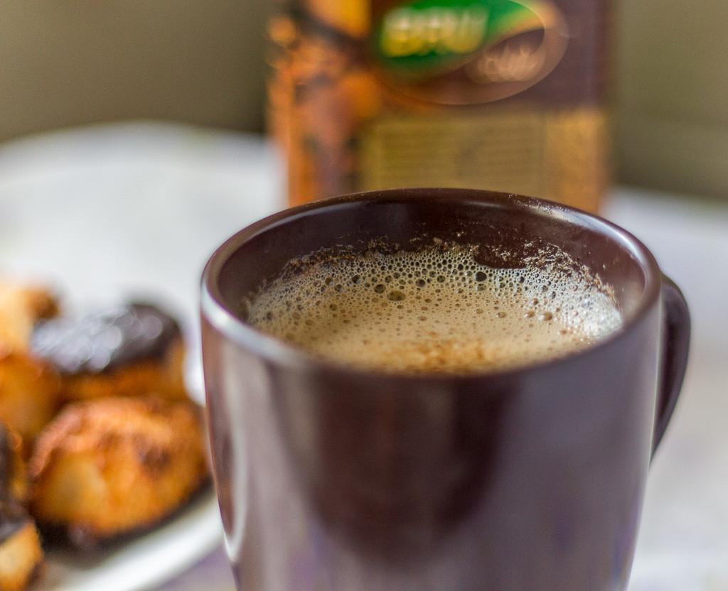 Beaten Instant Coffee
