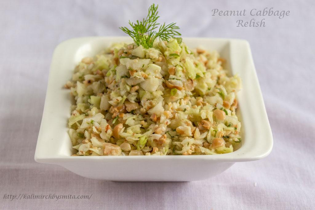 Peanut Cabbage Relish