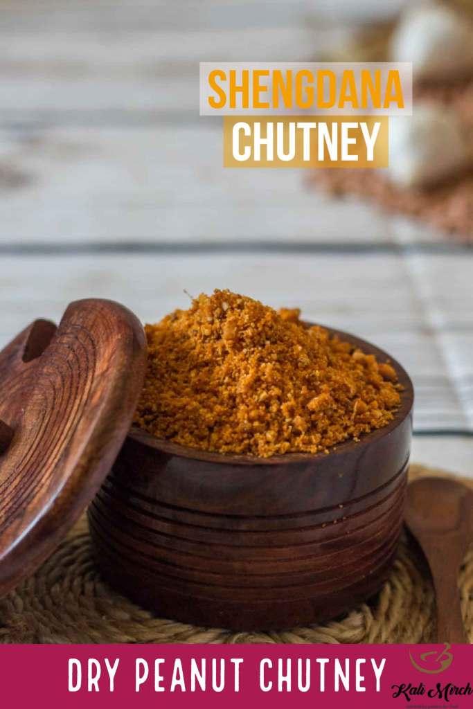 Shengdana Chutney-Dry Peanut Chutney