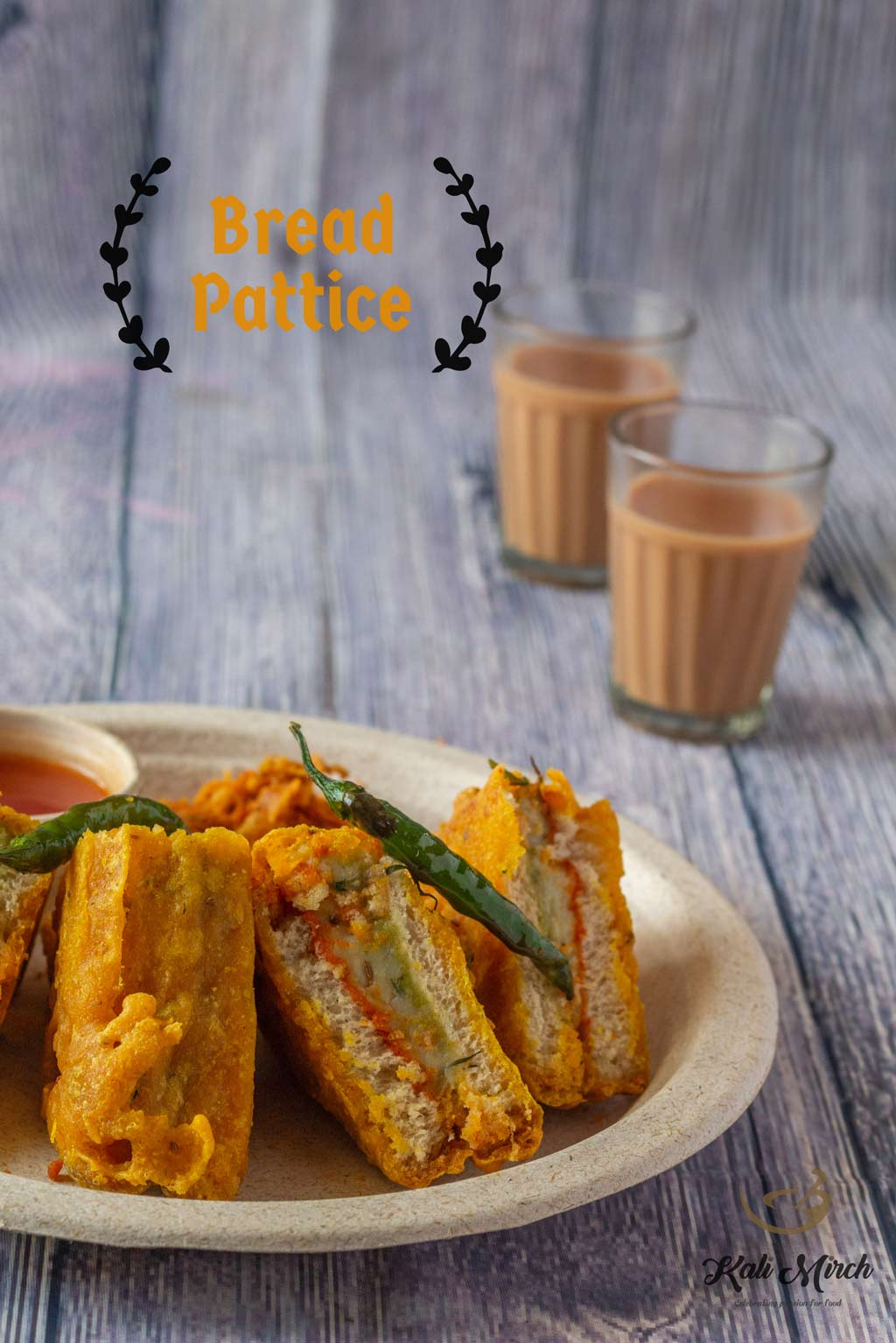 Bread Pakoda-Bread Patties