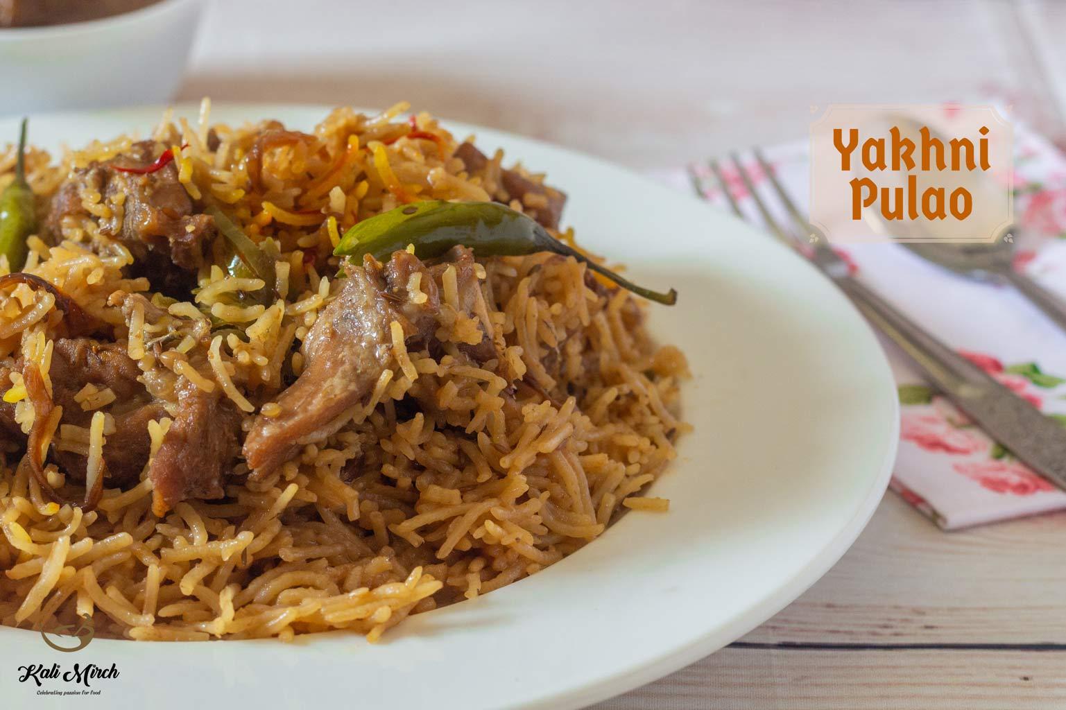Yakhni Pulao