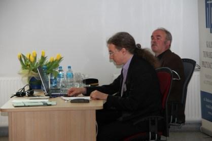 Z sesji I. Referat prof. Roberta Borna, prowadzi prof. Jan Salm.