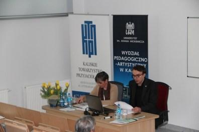 W imieniu mgra Jakoba Hartmanna referat prezentuje mgr Makary Górzyński, sesja VIa pod przewodnictwem prof. Francesci Zanelli.