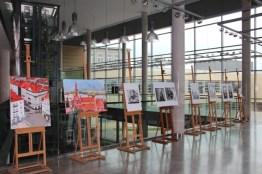 Wystawa plastyczna prac studentów kierunku Edukacja Artystyczna w zakresie Sztuk Plastycznych WPA-UAM w hallu 1