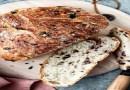 Συνταγή: Ψωμί μακράς ωρίμανσης με ελιές και γλυκάνισο.