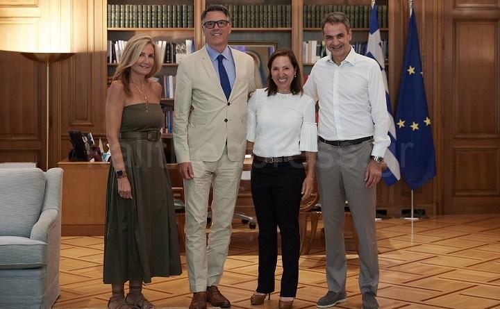 Οικογενειακό Γεύμα πρωθυπουργού Κυριάκου Μητσοτάκη στην αναπληρώτρια κυβερνήτη της Καλιφόρνια Ελένη Τσακοπούλου-Κουναλάκη