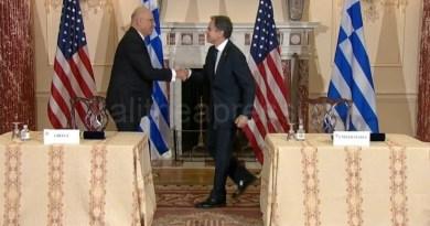 Αμυντική συμφωνία Ελλάδας – ΗΠΑ υπέγραψαν Αντόνι Μπλίνκεν -Νίκο  Δένδια
