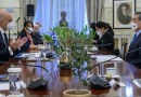 Συνάντηση Πρωθυπουργού Κυριάκου Μητσοτάκη με Υπουργό Εξωτερικών  Κίνας Wang Yi