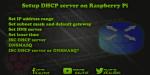 Setup DHCP server on Raspberry Pi