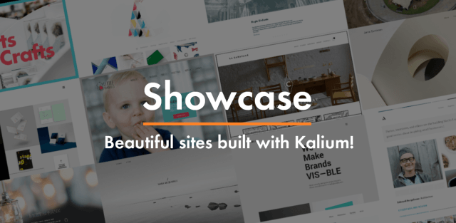 Theme Showcase, see what clients created with Kalium Theme