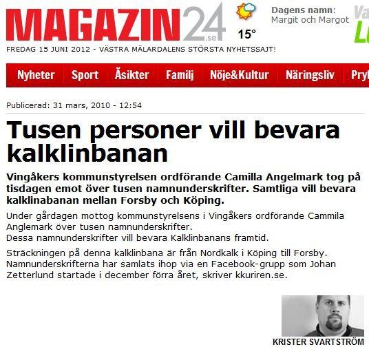 31 mars 2010 - Magazin24