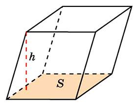 расчет объема параллелепипеда