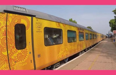 Indias first private train