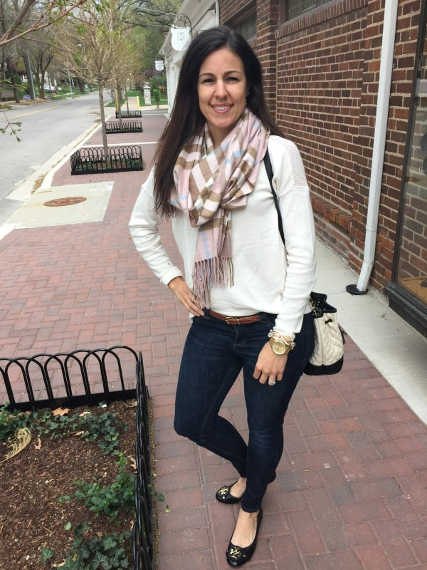 Spring Basics | how to style a scarf | spring fashion | spring style | styling for spring and summer | warm weather fashion | fashion tips