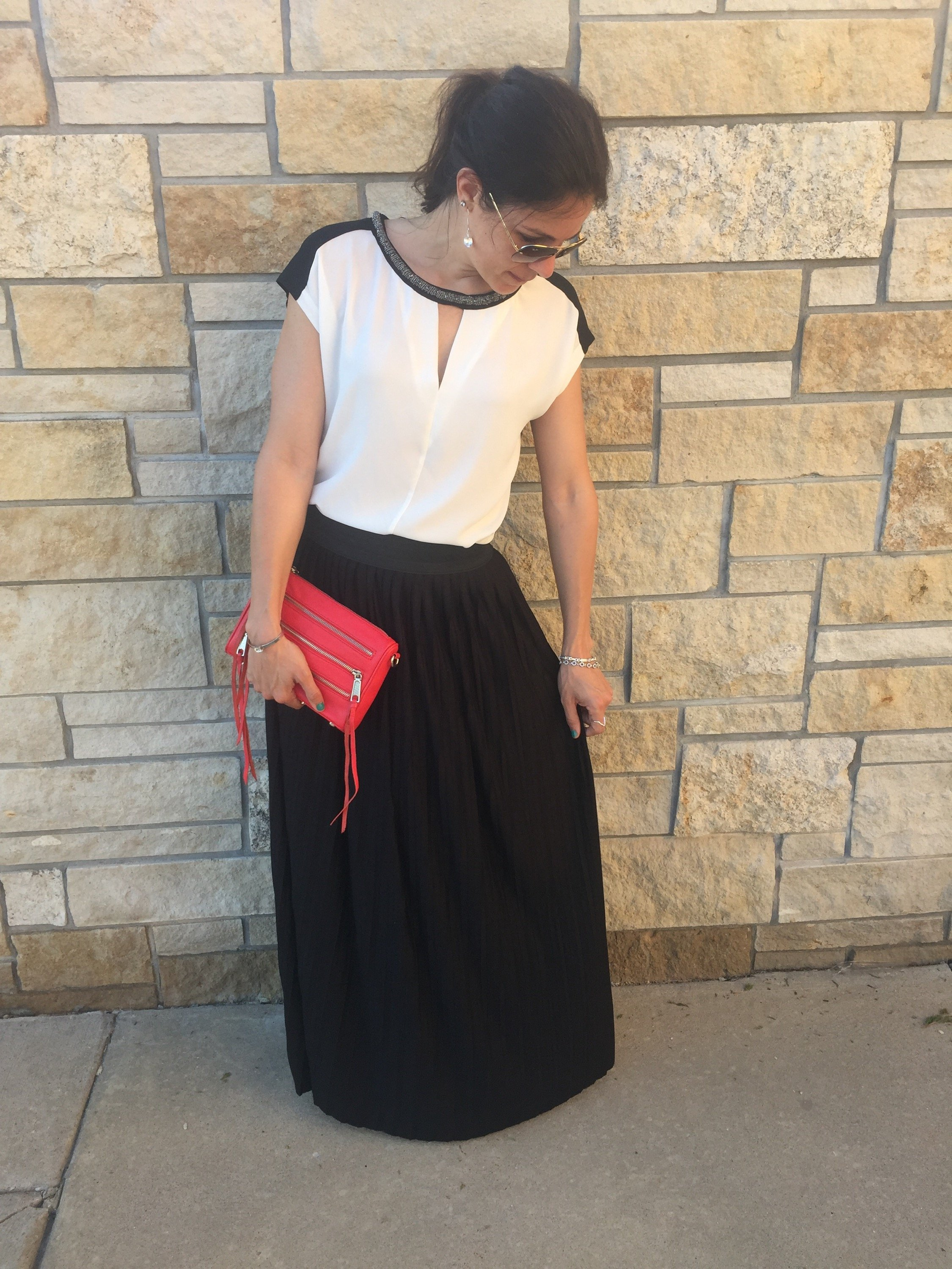 How to style a maxi skirt  | summer fashion tips | styling for spring and summer | warm weather fashion | wedding guest fashion