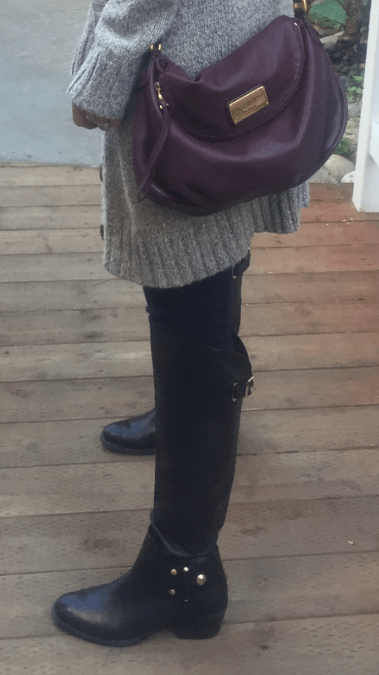 Snowy Day Outfit   how to style a cardigan   winter fashion   styling for fall and winter   cold weather fashion