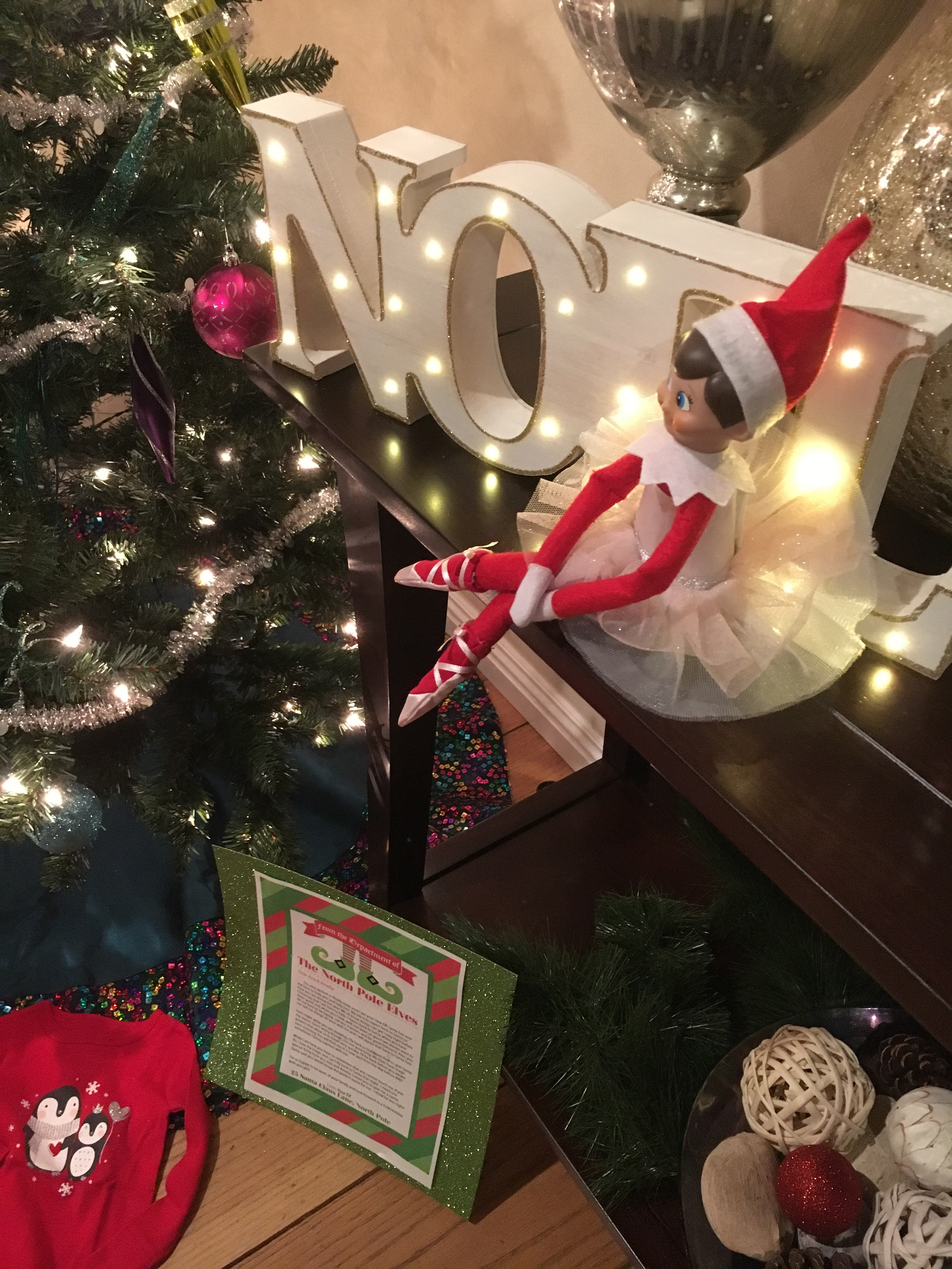 Getting started with elf on the shelf ideas | elf on the shelf welcome letter | Christmas decorating
