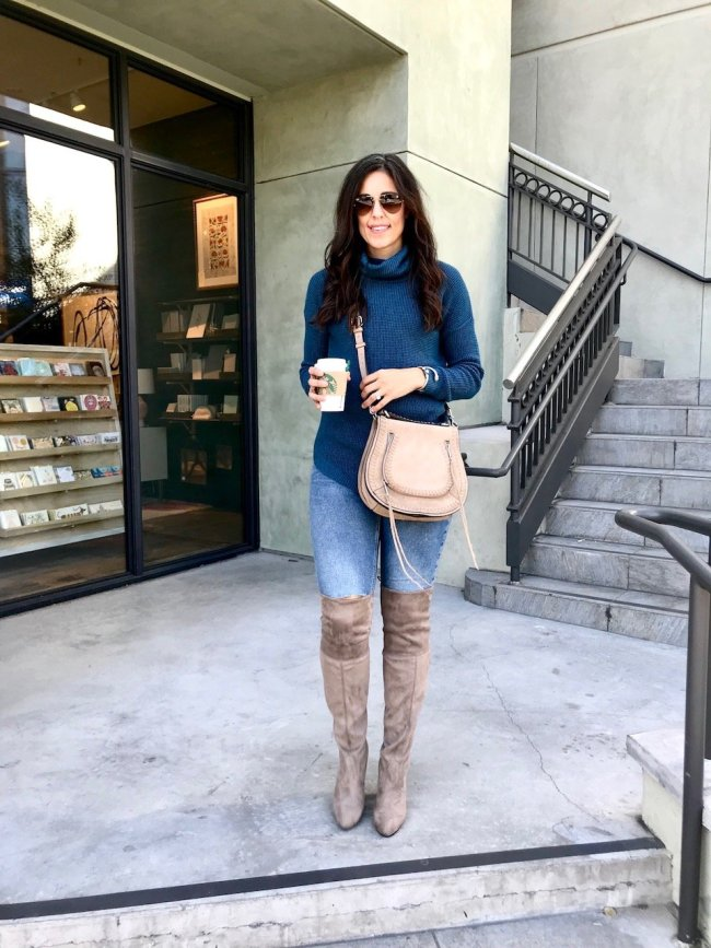 How to wear over the knee boots