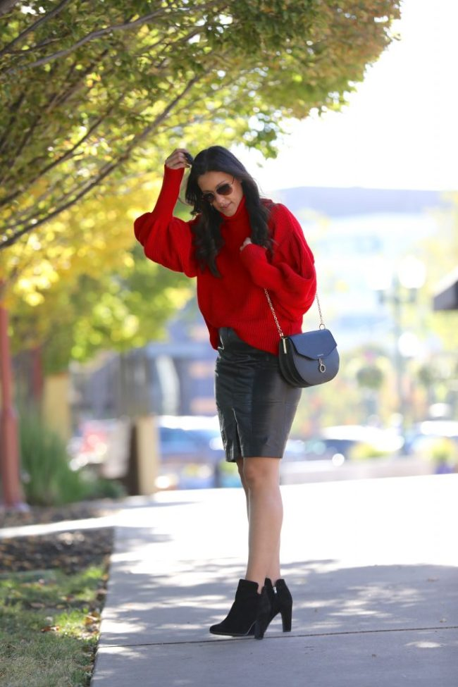 Styling A Red Sweater Part 2