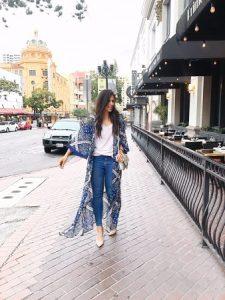 Kimono Outfit Ideas To Wear Throughout the Year