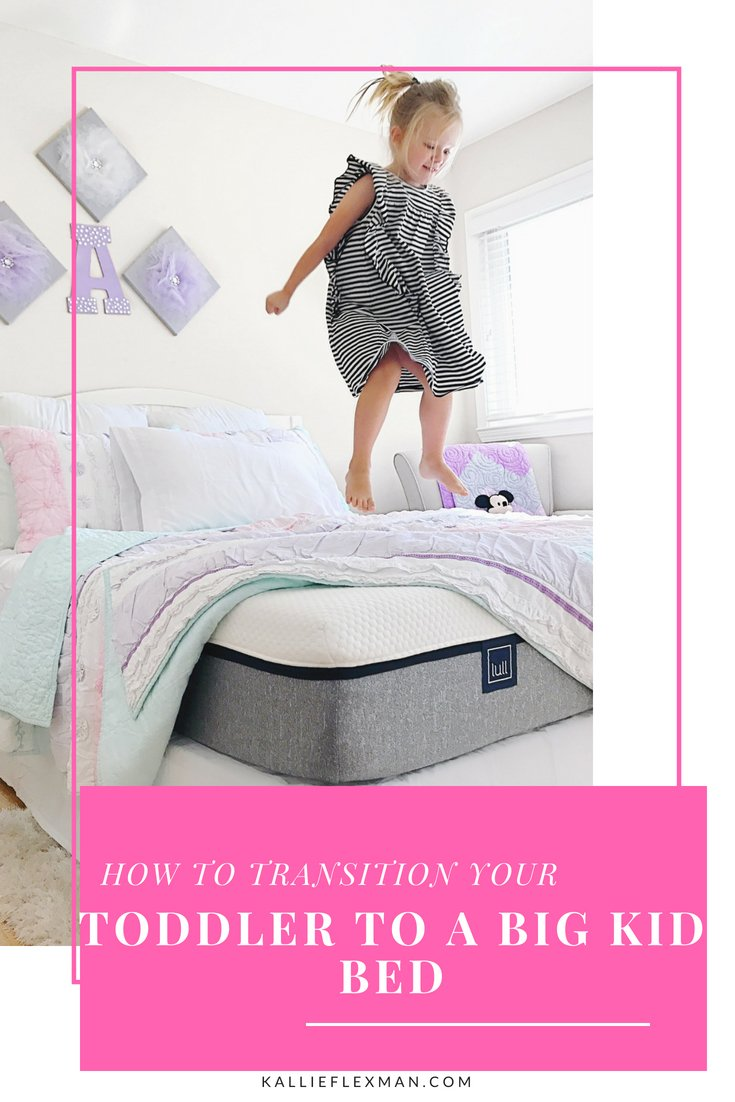 Tips To Transitioning Your Toddler To A Big Kid Bed