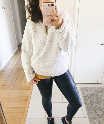 Top Five Fleeces For Cold Weather and Shop Your Closet Challenge