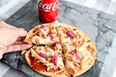 coca-cola bbq chicken pizza