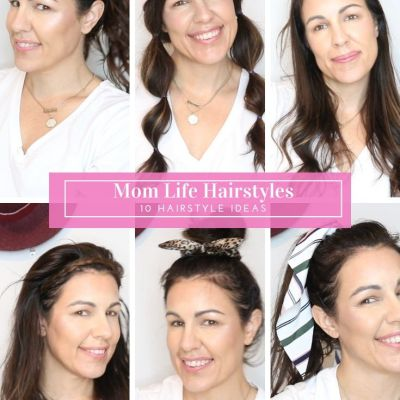 What To Wear Wednesday: Quick and Easy Hairstyles For Moms