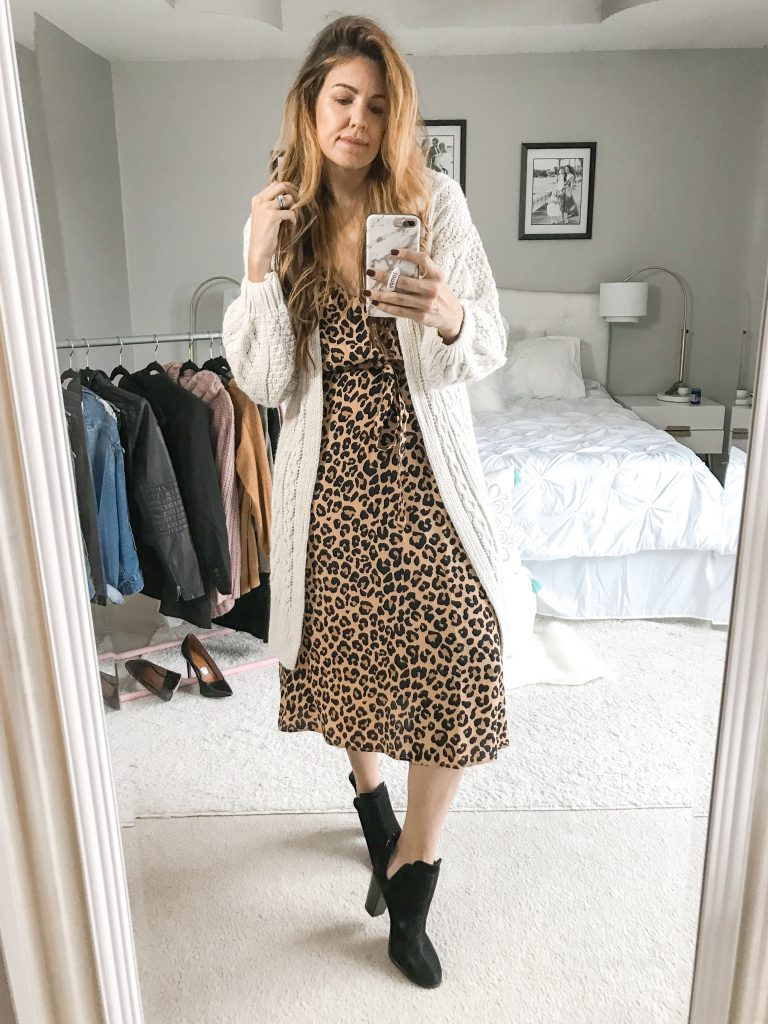 Ways To Style A Leopard Dress