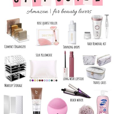 2019 Holiday Gift Guide: Amazon Gifts For Beauty Lovers