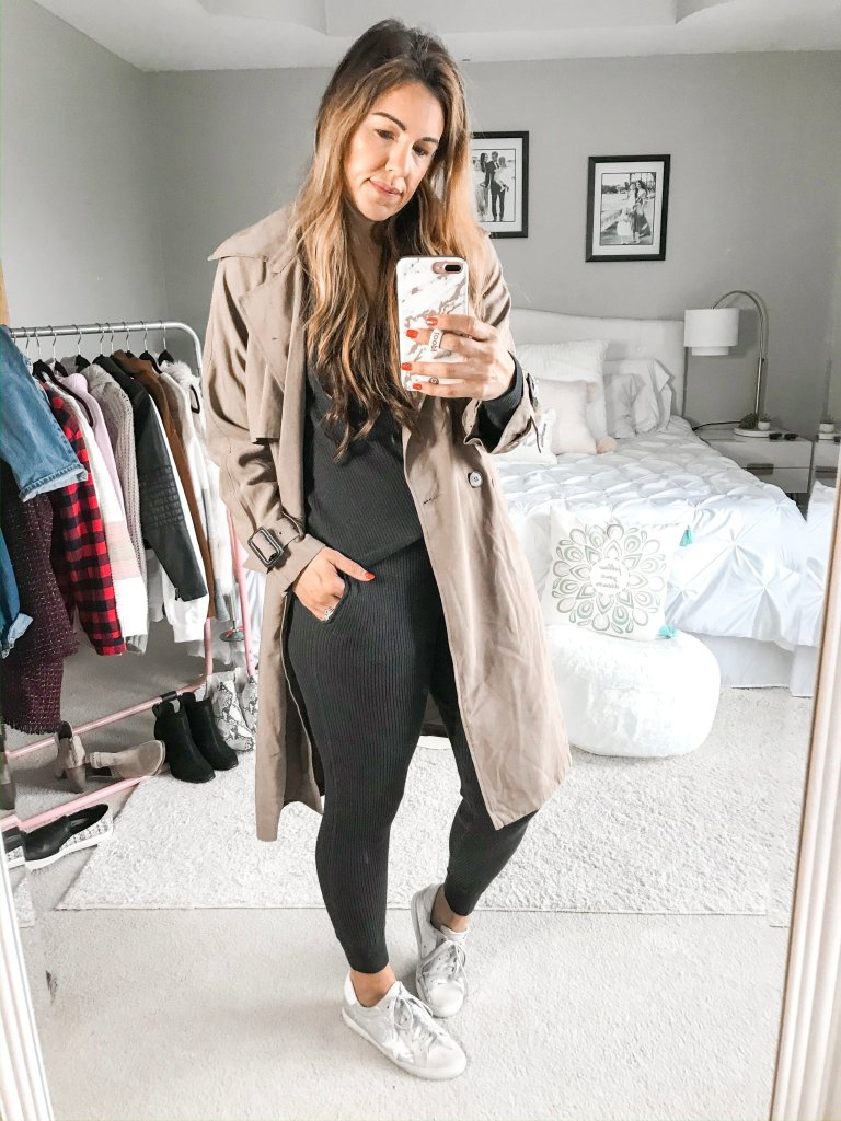 3 way to style a trench coat