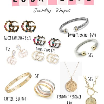 Designer Jewelry Dupes