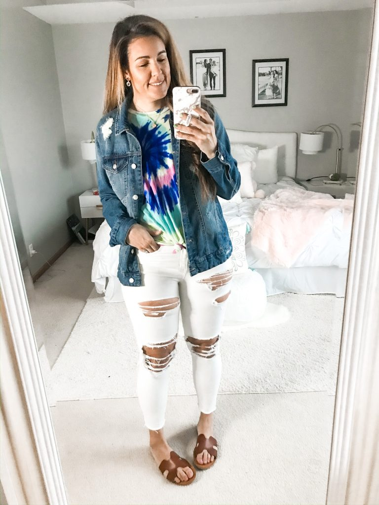 Six Ways To Style Tie Dye Tops-1