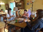 The Nest ventured (dove and worked) our way into the crafting world. Crafts, Crafts, Crafts!!