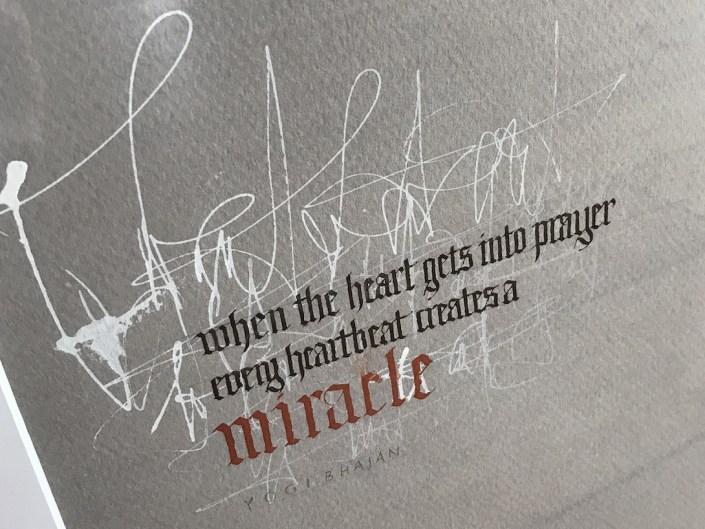 Original Kunst und Kalligrafie