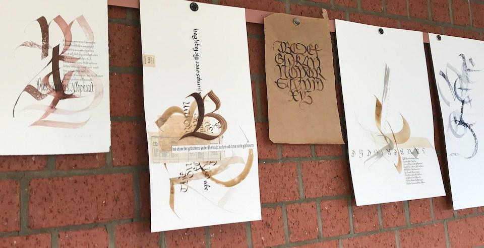 Die Bastarda – Rückschau auf einen Kalligrafiekurs