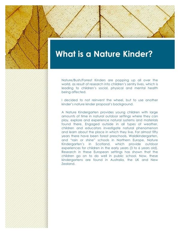 Nature Kinder proposal-page3