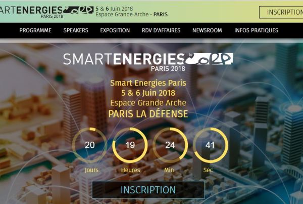 KALLISTONE is present at the #SMARTENERGIES 2018 show, on June 5th and 6th at Espace Grande Arche Paris