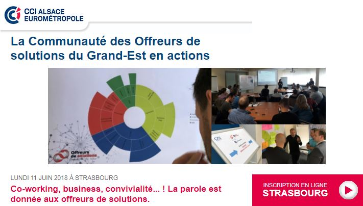 Our partner KALLISTONE France will be present with the Community of Solutions Providers of the East in action on June 11th 2018 in STRASBOURG!
