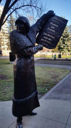 Women's Suffrage Memorial Calgary Alberta