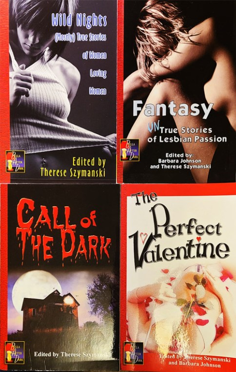 Covers After Dark series Wild Nights, Fantasy, Call of the Dark, Perfect Valentine