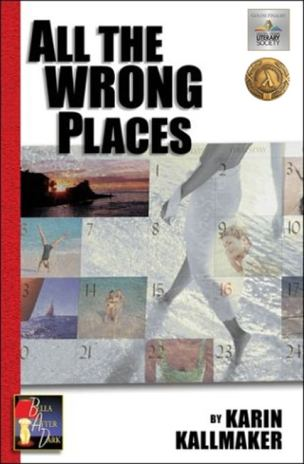 book cover all the wrong places sexy romance