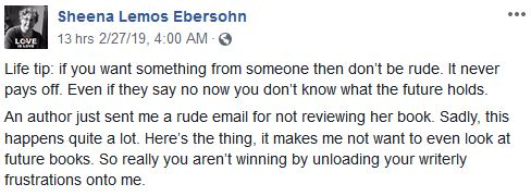 Owner of The Lesbian Review advises don't be rude