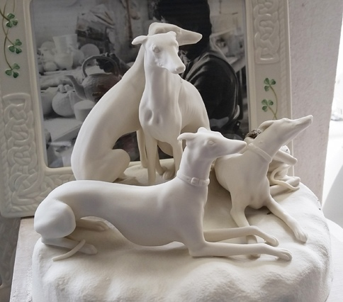 Belleek hounds in progress