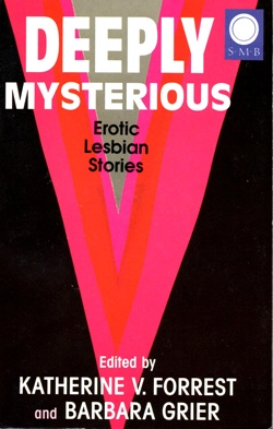 Cover Deeply Mysterious Silver Moon edition lesbian fiction