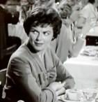 The original Della Street on camera played by Barbara Hale