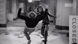 Dame Diana Rigg in her early role as karate chopping Secret Agent Mrs. (Emma) Peel